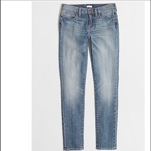 J. Crew factory 26 skinny ankle jeans light wash
